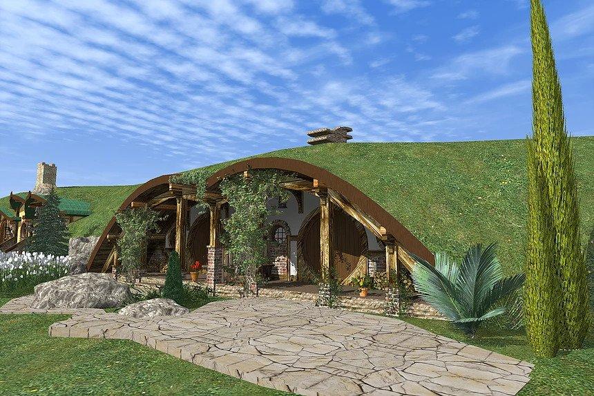 каркасний готель Hobbit 001