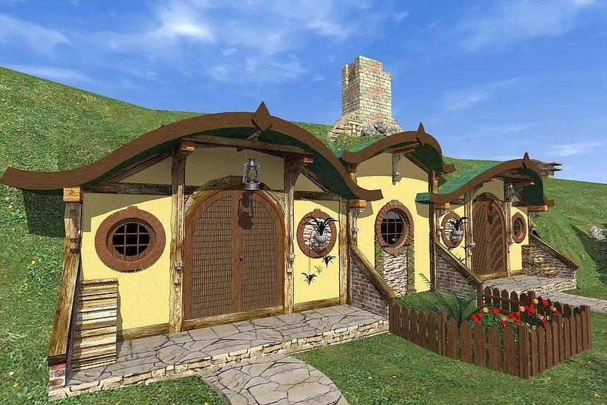 каркасний готель hobbit 002