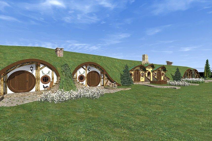 каркасний готель hobbit 003
