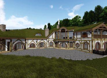 каркасний готель Hobbit Resort