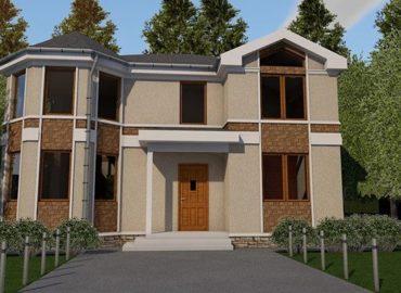 каркасний котедж villa classic-11