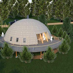 Купольний будинок