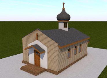 Унікальена каркасна церква