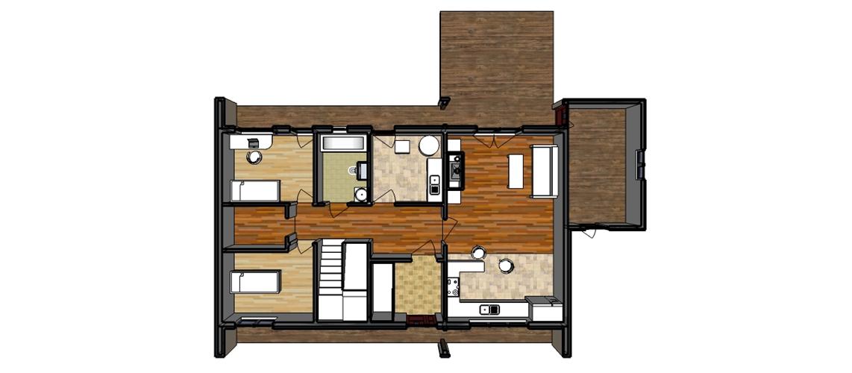 План-перспектива 1-й поверх