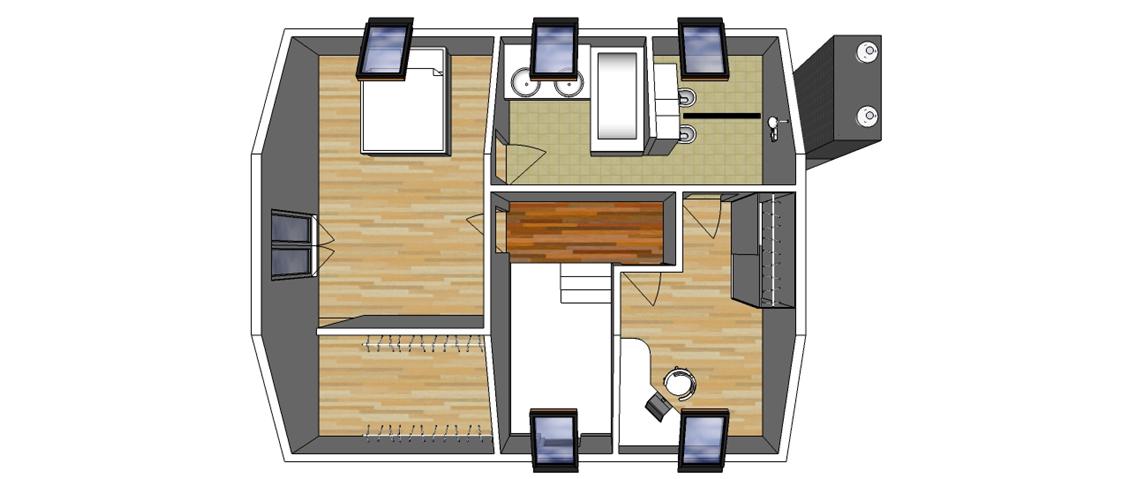 План-перспектива 2-й поверх
