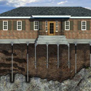 Будівництво будинку на пальовому фундаменті