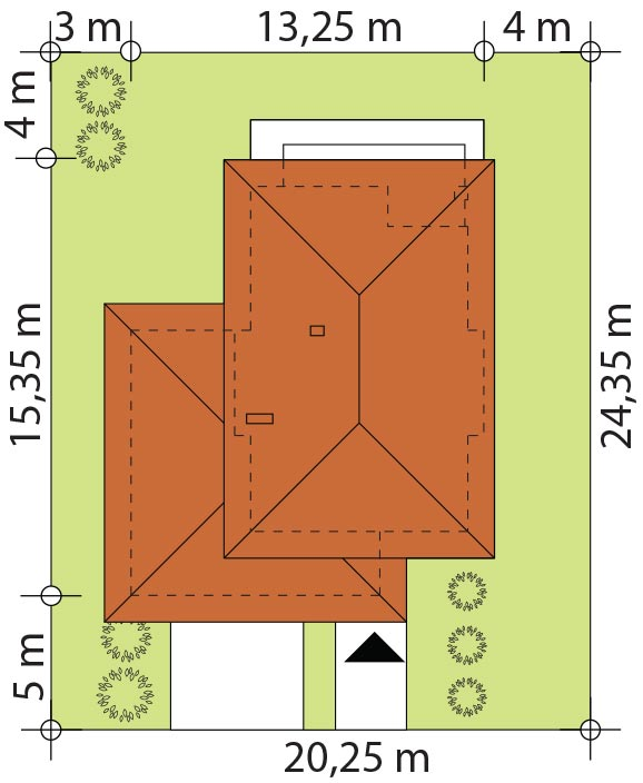 Каркасний котедж Карат 2 194 кв м розміри
