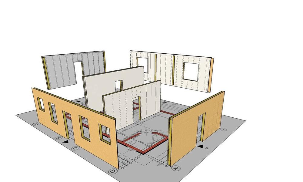 швидкомонтовані будинки