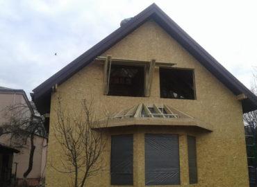 Каркасний будинок на Дністерській