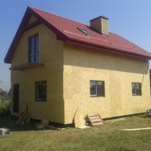 Каркасний будинок в с. Вороців