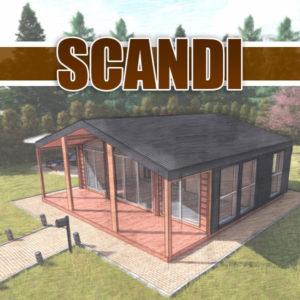 Каркасні будинки Сканді